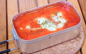 シューイチ:メスティンでトマト煮込みのレシピ!べランピング