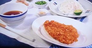 きょうの料理:栗原はるみさんのカリカリチキンとそうめんのレシピ!