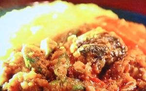 土曜はナニ(何)する:さば缶とオクラのトマトカレーのレシピ!