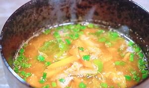 ツナとキムチのスープ