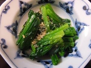 あさイチ:春菊とほうれん草のごま和えのレシピ!鳥羽シェフ