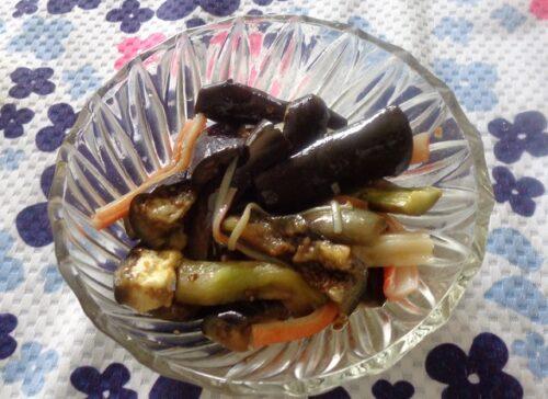 【ヒルナンデス】リュウジのなすのオリーブオイルマリネのレシピ!冷蔵庫の中身
