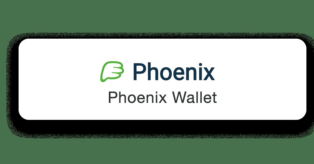 Phoenix Lightning Wallet