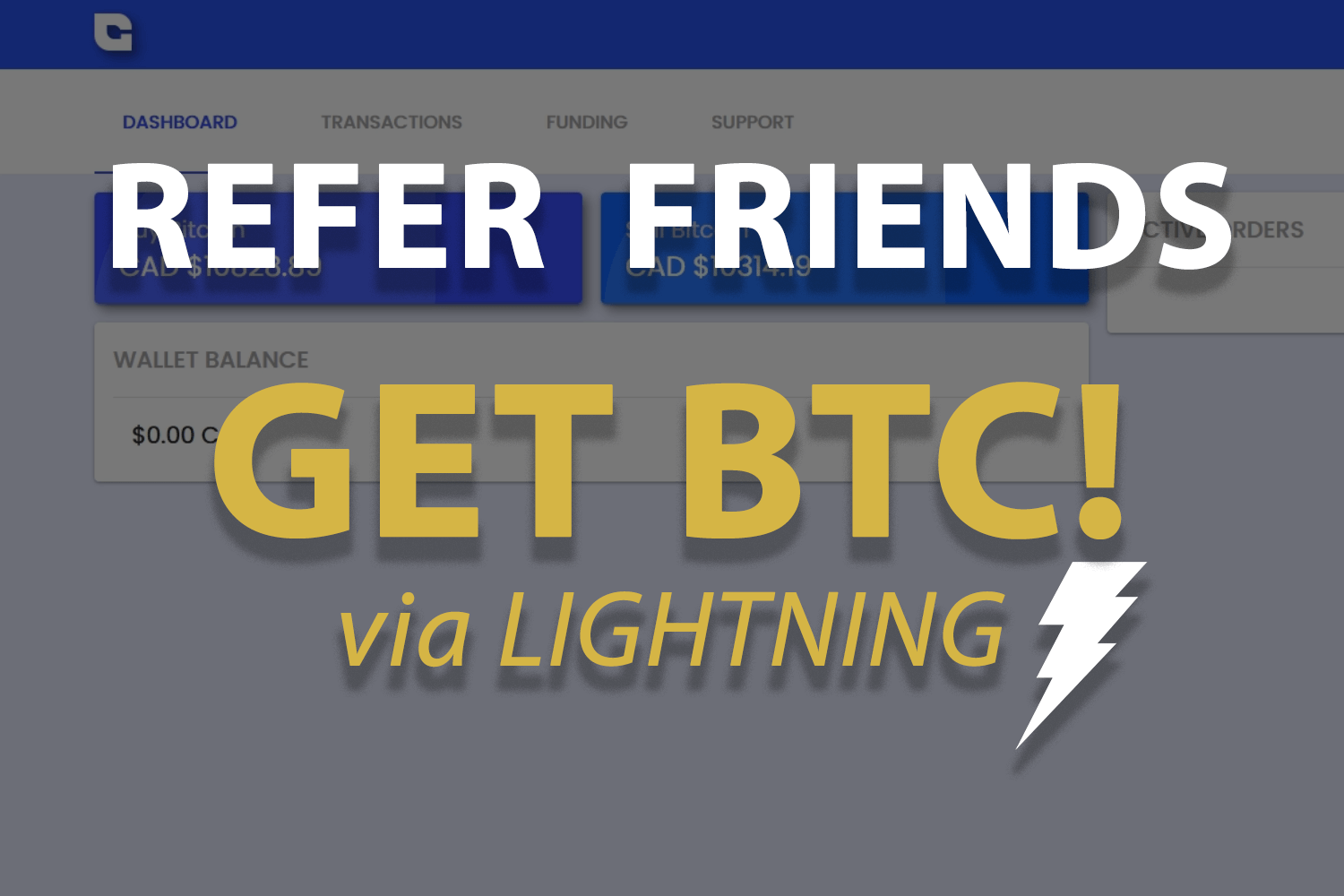 Bitcoin Lightning Referral