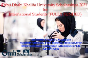 Abu Dhabi Khalifa University Scholarships 2021