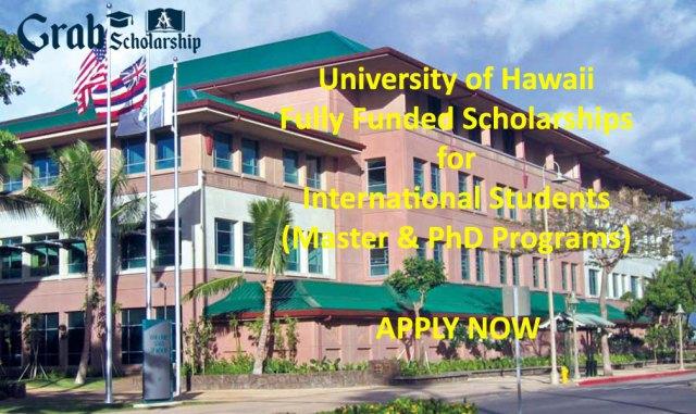 University of Hawaii Scholarships