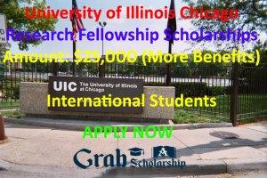 University of Illinois Chicago Scholarships