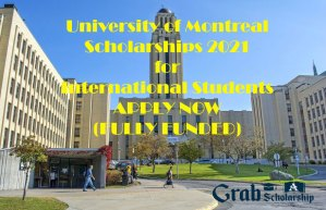 University of Montreal Scholarships 2021