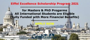 Eiffel Excellence Scholarship Program