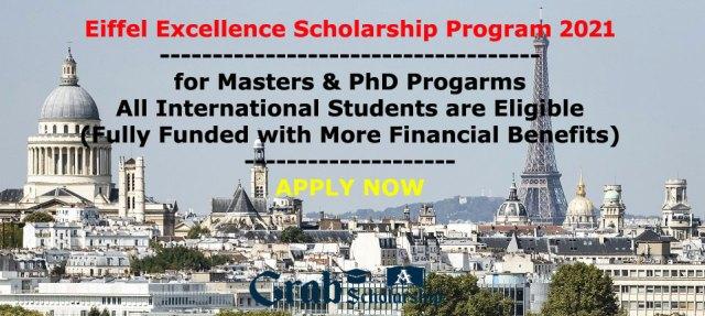 Eiffel Excellence Scholarship Program
