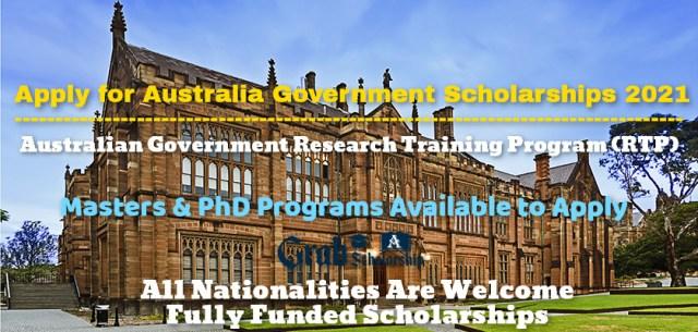 Australia Government Scholarships