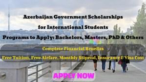 Azerbaijan Government Scholarships 2021