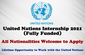 United Nations Internship 2021