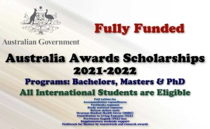 Australia Awards Scholarships 2021