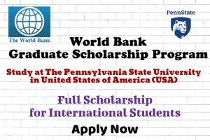 World Bank Graduate Scholarship Program