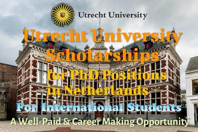 Utrecht University Scholarships