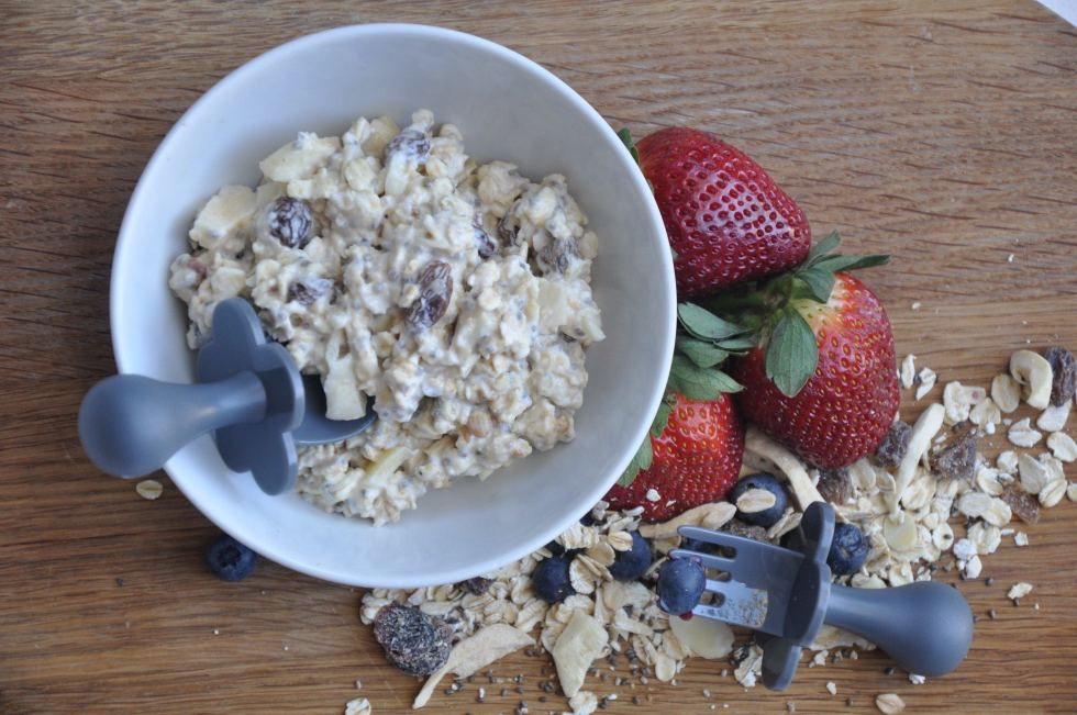 baby friendly bircher muesli recipe