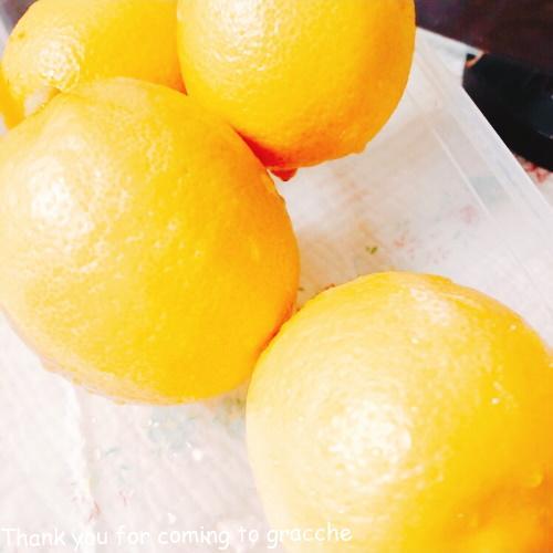 レモンの洗い方