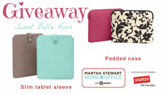 What to pack for a blog conference sweetbellaroos.com #giveaway #marthastewart
