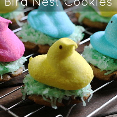 Bird Nest Easter Cookies