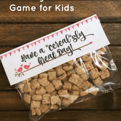 "Have a ""Cereal""sly Good Day- Free Printable"