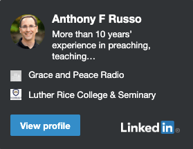 anthony f russo, linkedin, grace and peace radio