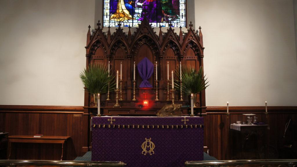 Grace Church Canton - Altar Purple