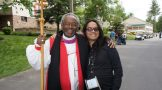 David Lloyd with Presiding Bishop Curry