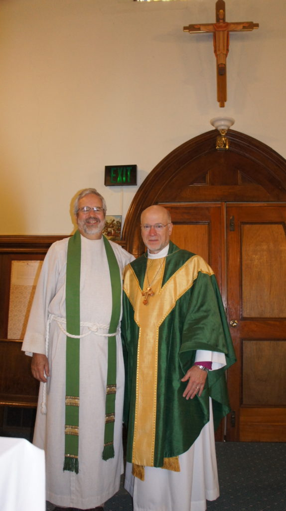 Fr. Chuck Smith and Bishop William Love