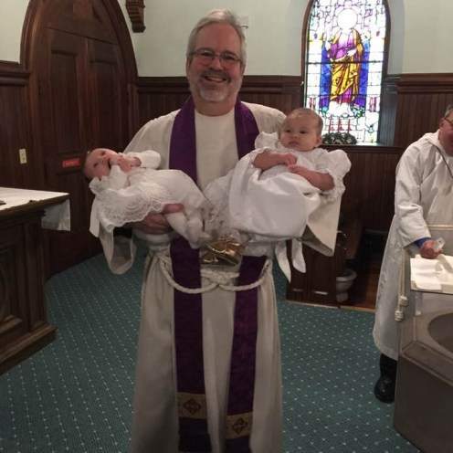 Fr. Chuck and Infants