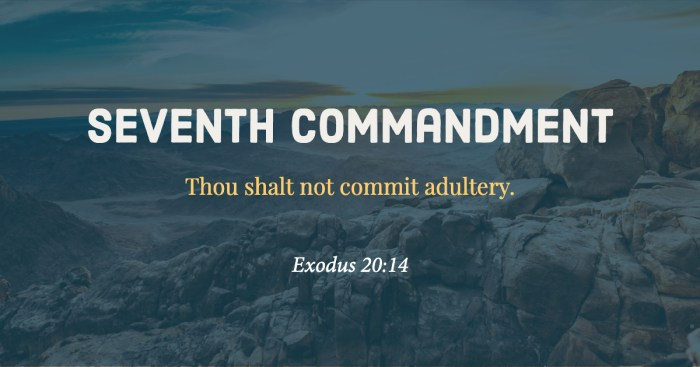 Seventh Commandment