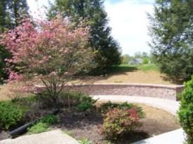 memorial garden construction