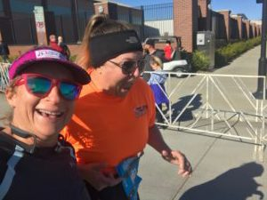 Running the #Route66 half marathon with a friend made it even better.