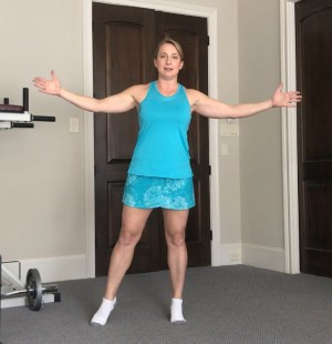 Quick balance exercises to do anywhere. Amy Connell | GracedHealth.com