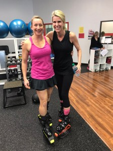 Take a friend to your first Kangoo jump class for even more fun. Amy Connell | GracedHealth.com