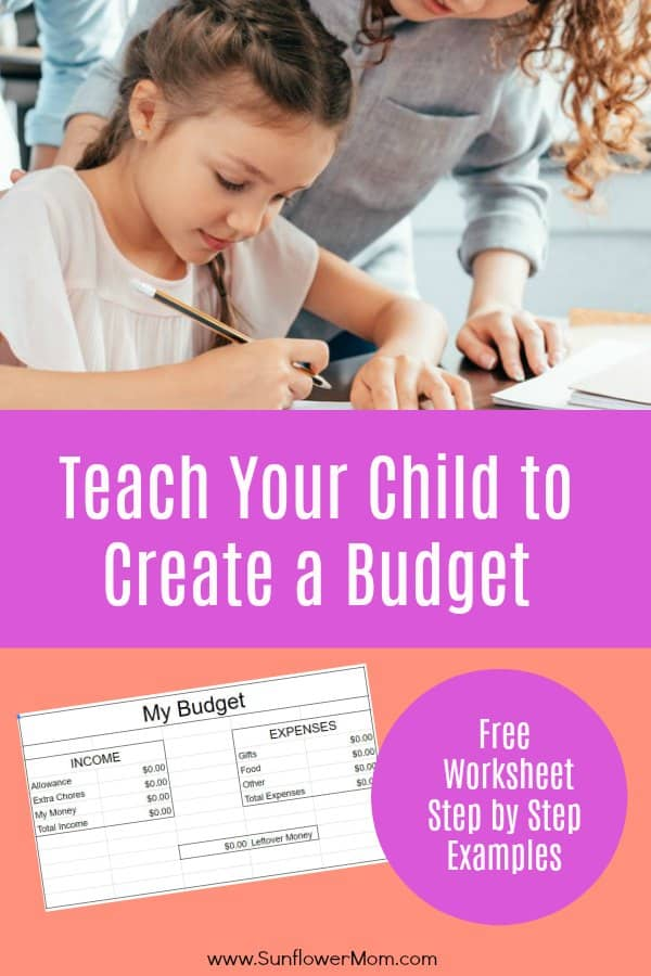 Budgeting for Kids: Teaching Your Child to Create a Budget