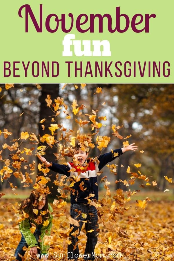 November Fun for Families - Beyond Thanksgiving
