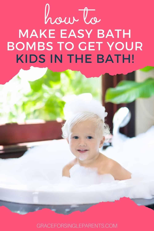 10 Minute Easy Bath Bomb Recipe