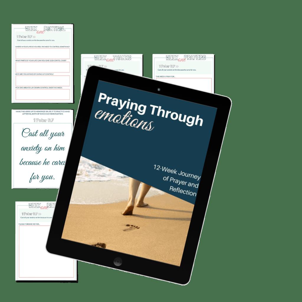 pray through emotions