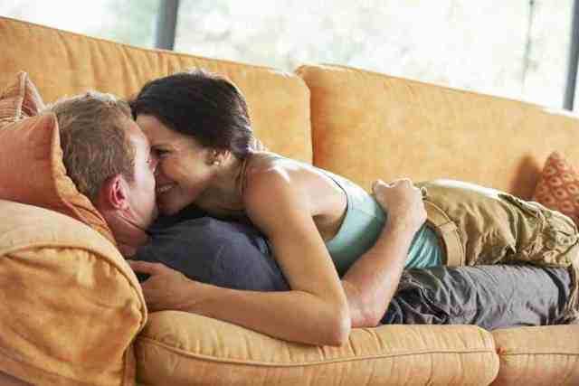 Couple at home date idea list
