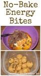 No-Bake Energy Bites on gracefullittlehoneybee.com