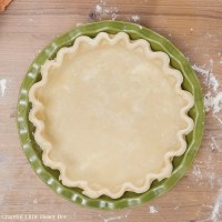 Simple Pie Crust Using 4 Easy Ingredients