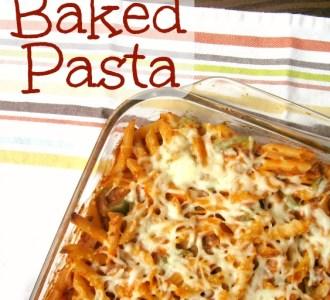 Easy Freezer-Friendly Baked Pasta on gracefullittlehoneybee.com