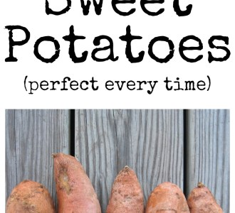 Crockpot Baked Sweet Potatoes on gracefullittlehoneybee.com