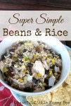 Simple, budget friendly and delicious!