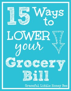 These 15 ways to lower your grocery bill are sure to keep more money in your pocket!