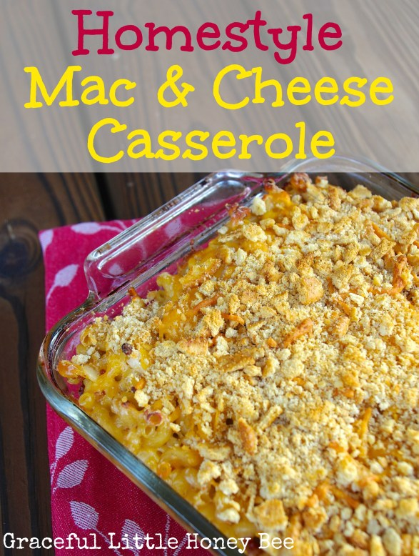 This Mac & Cheese Casserole is loaded with goodness!