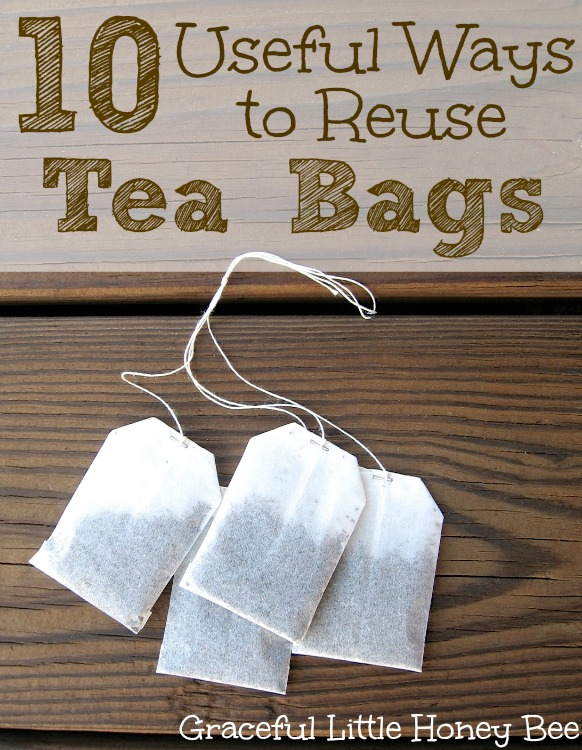 Did you know that tea bags are compostable and you can actually grow plants in them?? Check out these 10 Useful Ways to Reuse Tea Bags for more awesome ideas!