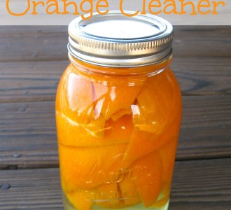 DIY All-Purpose Orange Cleaner on gracefullittlehoneybee.com