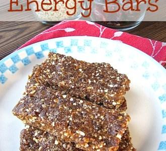 Homemade Energy Bars on gracefullittlehoneybee.com